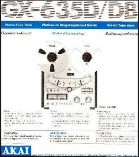 Akai GX 635d in Reel to Reel Tape Recorders