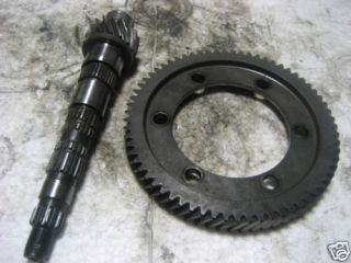 JDM Toyota Starlet Final gear and pinion set EP71