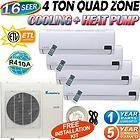 Ductless Mini Split Air Conditioner  9,000 BTU x 2 + 12,000 BTU x 2