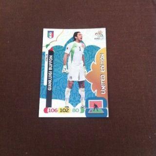 PANINI ADRENALYN XL UEFA EURO 2012 LIMITED EDITION CARD   GIANLUIGI
