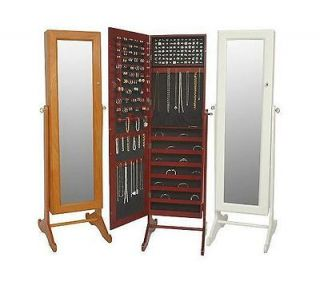 Safekeeper Mirrored Jewelry Cabinet by Lori Greiner BOX STANDING
