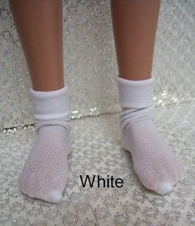 White Thin Anklets by Kdys for 18 Heart & Soul Sonja Hartmann Kidz N