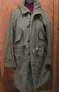 united states air force military uniform overcoat parka type sz