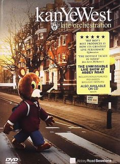 Kanye West   Late Orchestration Live at Abbey Road DVD, 2006