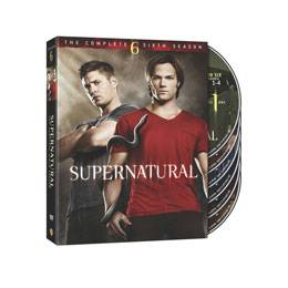 Supernatural The Complete Sixth Season DVD, 2011, 6 Disc Set
