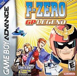 Zero GP Legend (Nintendo Game Boy Ad