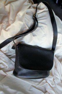 NWT COACH LG SEXY BLACK PEBBLED LEATHER HOBO CONVERTIBLE SHOULDER TOTE