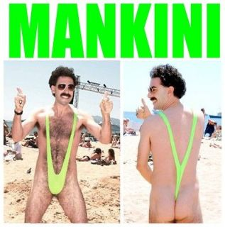 Seksy Borat Mankini Swimsuit Costume   I LIKE.HIGH FIVE !!!