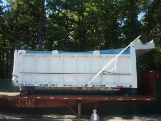 18 Ft Foot 2000 J&J Aluminum Dump truck Body bed box