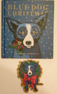 CHRISTMAS   DAVID MCANINCH GEORGE RODRIGUE (HARDCOVER) With Ornament