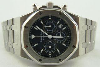 Audemars Piguet Royal Oak Chronograph Steel Black Dial 25860ST.OO.111