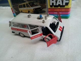 RARE Russian  made in USSR   Diecast Car AMBULANCE MODEL 143 Mint