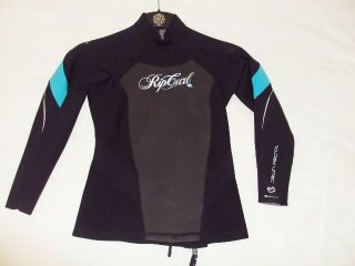 NEW RIP CURL SURF WEAR WOMEN NEOPRENE DAWN PATROL JACKET SWIMSUIT size