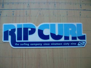 Vintage surfing skateboards Hawaii stickers decals rip curl RC18