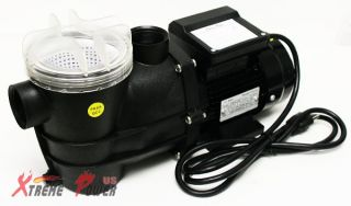 2400GPH Self Primming Above Ground Swimming Pool Pump w/ Strainer