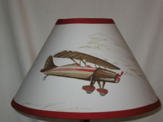 Tyson Airplane Boys Lamp Shade M2M Pottery Barn Kids