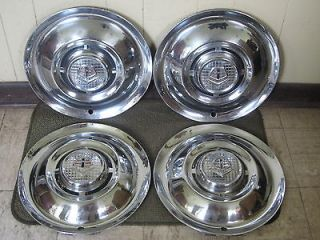 1955 Dodge HUB CAPS 15 Set of 4 Wheel Covers (Fits Dodge Truck)