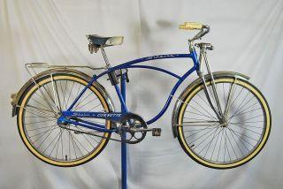 Vintage 1961 Schwinn Corvette middleweight bicycle bike great paint