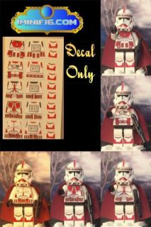 lego star wars clone decals in Toys & Hobbies