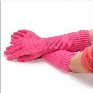 Mamison Washing Cleaning Long Band Gloves Made in Korea 100% Crude