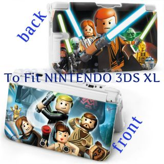 for NINTENDO 3DS XL PROTECTIVE HARD CASE WITH COOL DESIGN   LEGO STAR