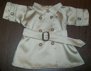 CPK Cabbage Patch Kids Raincoat Trench Coat with belt outfit clothes