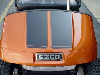 All Make Golf Cart EZGO Club Car 7 Hood Stripe Stripes Graphics