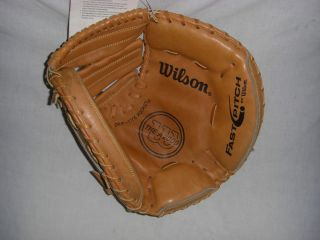 WILSON A2000FPSB FASTPITCH CATCHERS MITT RH THROWER