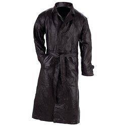 black full length trench coat in Mens Clothing