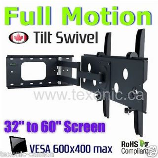 32 to 60 INCH SWIVEL ARTICULATING PLASMA LCD LED TV WALL MOUNT   FULL