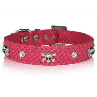 small leather dog collar in Leather Collars