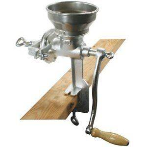 Iron Mill grinder hand crank manual grains oats corn wheat coffee nut