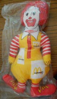 ronald mcdonald doll in Restaurants & Fast Food