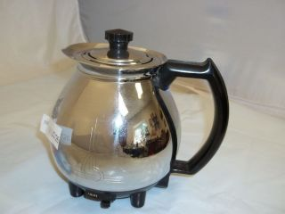 VTG Sunbeam Electric Percolator Coffee Pot Art Deco Design