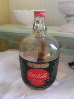 Coca Cola One Gallon Syrup Jug With Coke Lid Vintage Ball Jar W Syrup