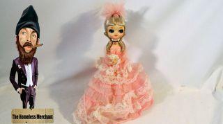 Vintage Beautiful Collectible Handmade Doll Bradley Company Korea 1977