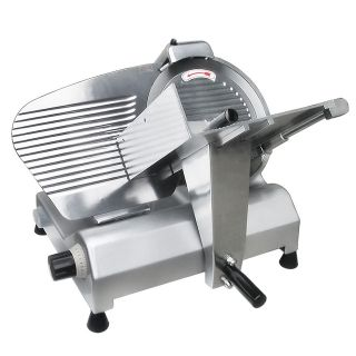 Stainless Steel Blade Electric Meat Slicer Deli Food Cheese Veggies