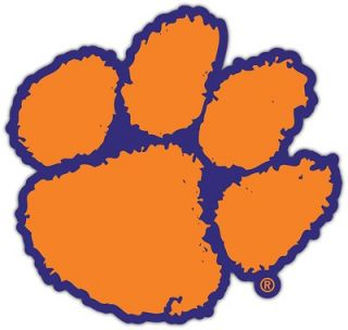 University Tigers NCAA College Bumper Window Sticker Decal 4.5X4.5