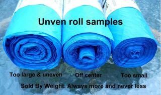 Dog / Cat Litter / Kitchen Compost Bags 10 W 12 L Blue #4a