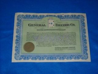 Vintage Original General Electric Monitor Top Refrigerator Warranty