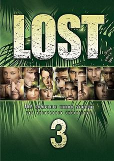 LOST THE COMPLETE THIRD SEASON DVD BOX SET UNEXPLORED DVDS TV SERIES