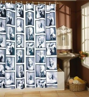 marilyn monroe shower curtain in Shower Curtains