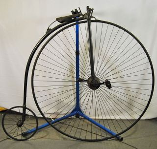 Antique 1880s Highwheeler Penny Farthing vintage bicycle bike