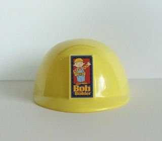 Bob the Builder Yellow Construction Hard Hat Helmet Pretend Play