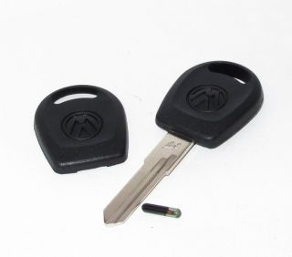 VW GOLF MK2 MK3 JETTA MK2 MK3 BLANK KEY FOB WITH CHIP ID T5