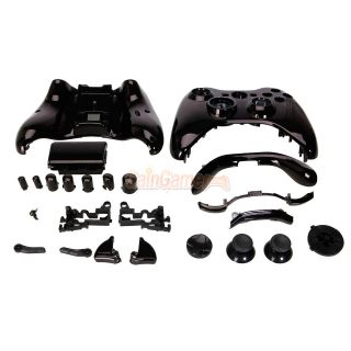 New Wireless Controller Case Shell Cover + Buttons for XBOX 360