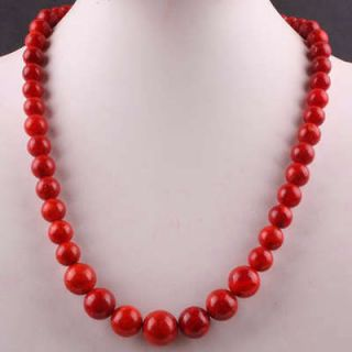 red coral necklace in Fashion Jewelry
