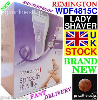 NEW REMINGTON WDF4815C LADY SHAVER SMOOTH SILKY WET DRY USE + BAG