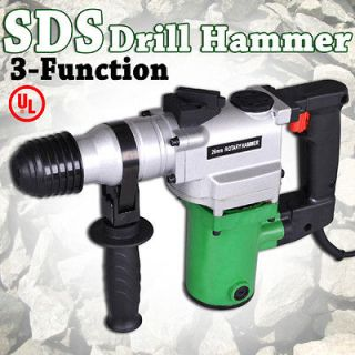 3in1 SDS Electric Drill Demolition Jack Hammer Concrete Breaker w
