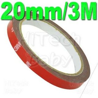 3M Auto Acrylic Foam Double Sided Attachment Tape(20mm)